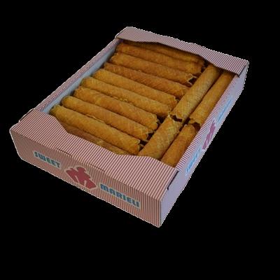 Вафельные трубочки коробка